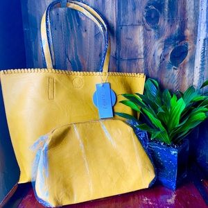 Handbags - Mustard yellow 3 bag set. ❤️